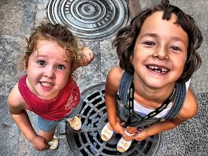 2 kids teeth